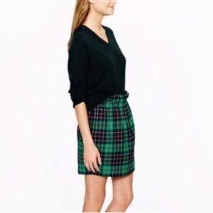 J. Crew Skirts - j crew Dublin tartan green Plaid wool city skirt 2
